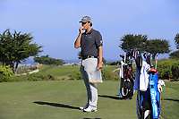 Beau Hossler (USA) waits on the 7th tee of Monterey Peninsula CC during Saturday's Round 3 of the 2018 AT&amp;T Pebble Beach Pro-Am, held over 3 courses Pebble Beach, Spyglass Hill and Monterey, California, USA. 10th February 2018.<br /> Picture: Eoin Clarke | Golffile<br /> <br /> <br /> All photos usage must carry mandatory copyright credit (&copy; Golffile | Eoin Clarke)