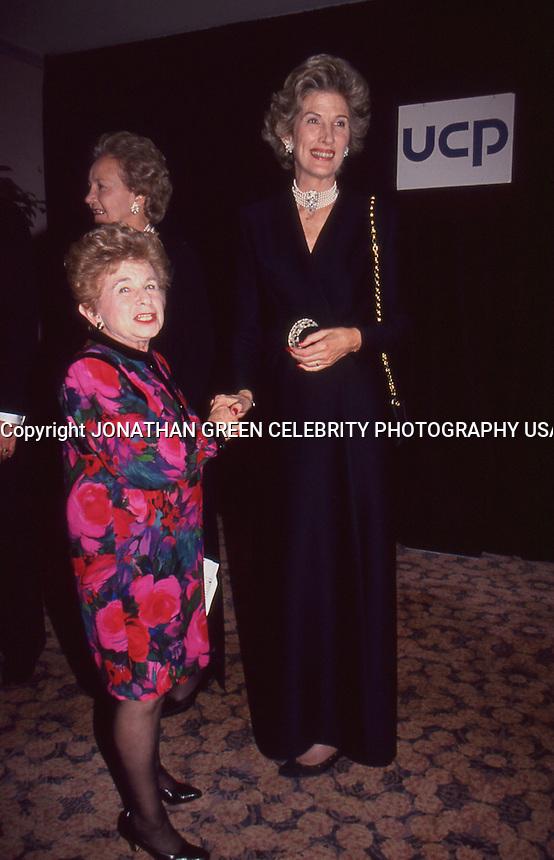 Dr. Ruth Westheimer & Mrs. Henry <br /> Kissinger 1992 by Jonathan Green