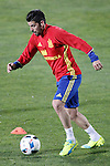 Spain's Nolito during training session. March 21,2016. (ALTERPHOTOS/Acero)