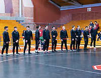 Stanford, California - January 12, 2019: Stanford Wrestling wins the dual meet 20-19 over Utah Valley at Burnham Pavilion in Stanford, California.