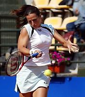 Roma 16 Maggio 2002<br /> Tennis Master Roma<br /> Sanex Wta Tour<br /> Ottavi di finale<br /> Silvia Farina<br /> Roma Tennis Internazionali d'Italia 2002<br /> Foto Andrea Staccioli/Insidefoto