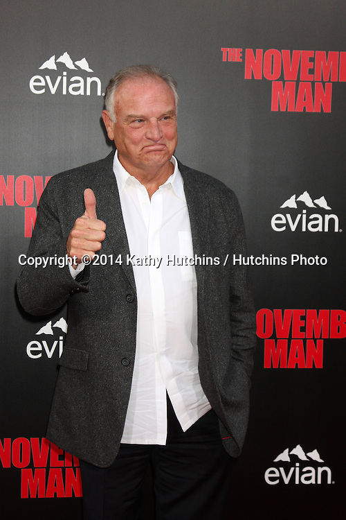 "LOS ANGELES - AUG 13:  Bill Smitrovich at ""The November Man"" Premiere at TCL Chinese Theater on August 13, 2014 in Los Angeles, CA"
