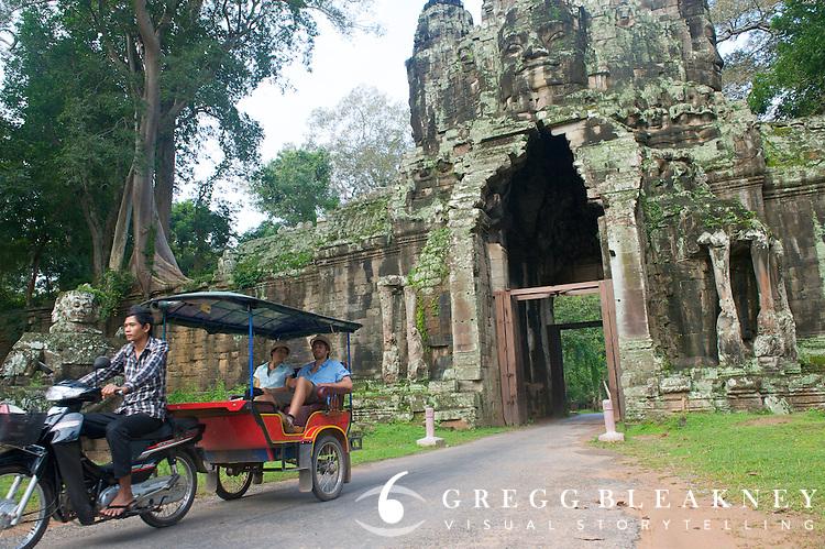 West Gate, Angkor Thom Ruins - Angkor Wat, Cambodia