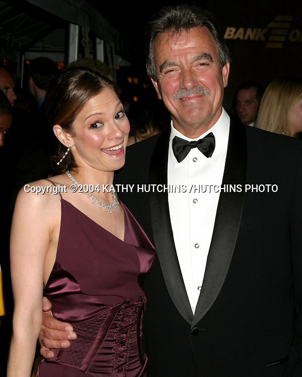 ©2004 KATHY HUTCHINS /HUTCHINS PHOTO.DAYTIME EMMYS.NEW YORK CITY, NY.MAY 21, 2004..TAMARA BRAUN.ERIC BRAEDEN