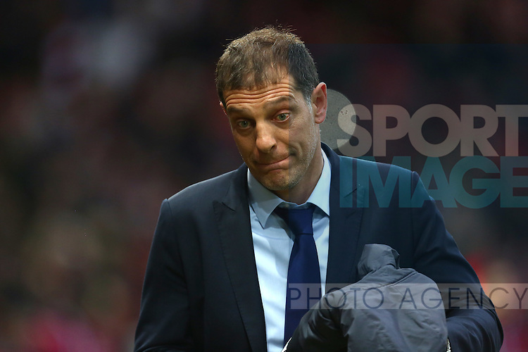 West Ham manager, Slaven Bilic - Manchester United vs West Ham United - Barclay's Premier League - Old Trafford - Manchester - 05/12/2015 Pic Philip Oldham/SportImage