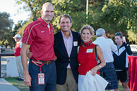 August 30, 2013: Donor reception before the Stanford vs Maryland men's soccer match in Stanford, California.  Stanford tied 3-3.