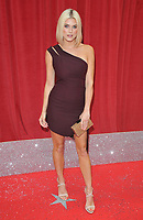 Ashley James at the British Soap Awards 2018, Hackney Town Hall, Mare Street, London, England, UK, on Saturday 02 June 2018.<br /> CAP/CAN<br /> &copy;CAN/Capital Pictures