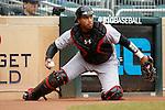 Kevin Martir (32)<br /> Maryland v Michigan<br /> Big 10 Baseball Tournament Championship Game<br /> <br /> &copy;2015 Bruce Kluckhohn<br /> #612-929-6010<br /> bruce@brucekphoto.com