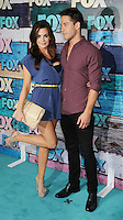 WEST HOLLYWOOD, CA - JULY 23: Jillian Murray and Dean Geyer arrive at the FOX All-Star Party on July 23, 2012 in West Hollywood, California. / NortePhoto.com<br />