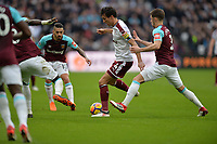 Jack Cork of Burnley  during West Ham United vs Burnley, Premier League Football at The London Stadium on 10th March 2018