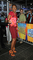 NEW YORK, NY-August 19:  Robin Roberts host of Good Morning America at ABC Time Square Studio in New York. August 19, 2016. Credit:RW/MediaPunch