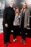 US producer Steve Tisch arrives with his wife Jamie and daughter Elisabeth at the USA/LA premiere of CBS Films' 'The Back-Up Plan' held at the Regency Village Theatre in Westwood in Los Angeles on April 21, 2010. The movie is a comedy that explores dating, love, marriage and family in reverse.