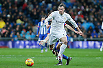 Real Madrid´s Gareth Bale during 2015/16 La Liga match between Real Madrid and Deportivo de la Coruna at Santiago Bernabeu stadium in Madrid, Spain. January 09, 2015. (ALTERPHOTOS/Victor Blanco)