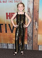"10 January 2019 - Hollywood, California - Lena McCarthy. ""True Detective"" third season premiere held at Directors Guild of America. Photo Credit: Birdie Thompson/AdMedia"