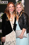 Katie Rose Clarke and Teal Wicks  attending the 10th Anniversary Celebration Party for 'Wicked'  at the Edison Ballroom on October 30, 2013  in New York City.