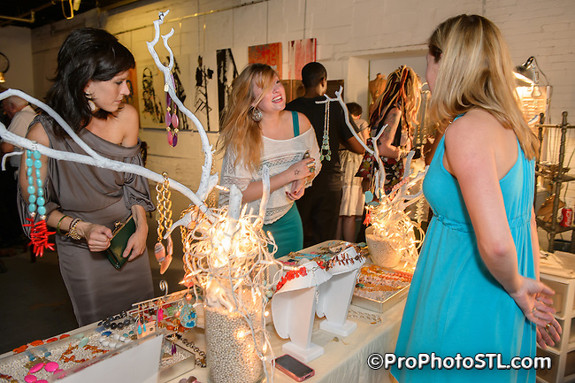 Inaugural RAW Natural Born Artists event in St. Louis, MO on July 12, 2012.