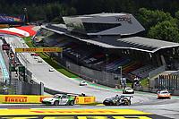 12th July 2020; Spielberg, Austria;  Porsche Mobil 1 Supercup race day;  23 Marvin Klein F, Martinet by Almeras 33 Florian Latorre F, CLRT held at Spielberg Austria