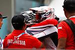 (L to R) <br /> Yoshitaku Nagasako, <br /> Yoshitaku Nagasako (JPN), <br /> AUGUST 25, 2018 - Cycling - BMX : <br /> Men's BMX Race Final <br /> at Pulo Mas International BMX Center <br /> during the 2018 Jakarta Palembang Asian Games <br /> in Jakarta, Indonesia. <br /> (Photo by Naoki Morita/AFLO SPORT)