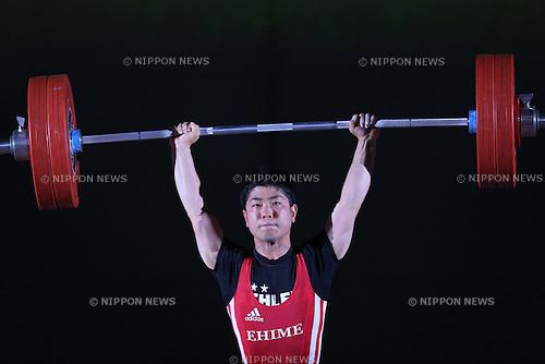 Tatsuya Gonda, <br /> MAY 21, 2016 - Weightlifting : <br /> All Japan Weightlifting Championship 2016 Men's -56kg <br /> at Yamanashi Municipal Gymnasium, Yamanashi, Japan. <br /> (Photo by AFLO SPORT)