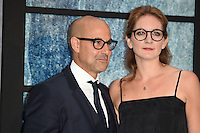 Stanley Tucci and wife, Felicity Blunt<br /> at the premiere of &quot;The Girl on the Train&quot;, Odeon Leicester Square, London.<br /> <br /> <br /> &copy;Ash Knotek  D3156  20/09/2016