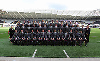 2018 10 17 Swansea City Football Club squad photo shoot at the Liberty Stadium, South Wales, UK