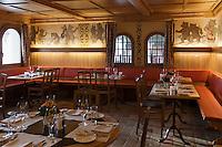 Europe/Suisse/Saanenland/Gstaad/Sannemöser: Restaurant: Bärengraben, au Golfhotel les Hauts de Gstaad, la taverne de l'ours