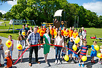 The official opening of a new playground and camping area at Woodlands Park on Friday by the current Rose of Tralee, Maggie McEldowney