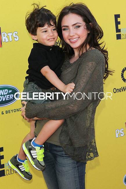 SANTA MONICA, CA, USA - NOVEMBER 16: Jackson Refold, Ryan Newman arrives at the P.S. ARTS Express Yourself 2014 held at The Barker Hanger on November 16, 2014 in Santa Monica, California, United States. (Photo by Celebrity Monitor)