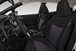 Front seat view of a 2018 Nissan Leaf SV 5 Door Hatchback front seat car photos