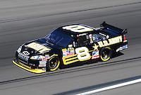 Feb 29, 2008; Las Vegas, NV, USA; NASCAR Sprint Cup Series driver Mark Martin during practice for the UAW Dodge 400 at Las Vegas Motor Speedway. Mandatory Credit: Mark J. Rebilas-