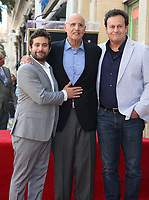 08 August 2017 - Hollywood, California - Joe Lewis, Jeffrey Tambor, Mitchell Hurwitz. Jeffrey Tambor Honored With A Star On The Hollywood Walk Of Fame. <br /> CAP/ADM/FS<br /> &copy;FS/ADM/Capital Pictures