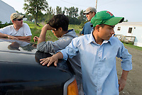 Mexican migrant workers provide crucial labor on Vermont dairy farms, living in a Golden Cage of opportunity, isolation and risk.