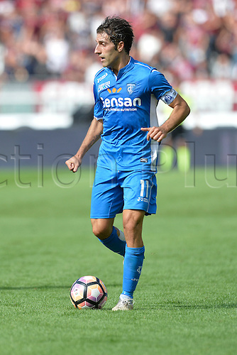 19.09.2016. Stadio Olimpico, Torino, Italy. Serie A Football. Torino versus Empoli. Daniele Croce on the ball . The game ended in a 0-0 draw.