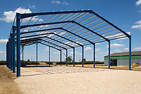 Construction of a new farm building<br /> &copy;Tim Scrivener Photographer 07850 303986<br />      ....Covering Agriculture In The UK....