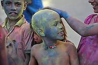 Holi Festival Jaipur Rajasthan India