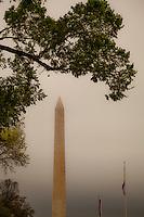 Hazy Monument