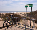 Southern end of the boardwalk at Rehoboth Beach, Delaware, USA.  © Rick Collier