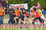 Sarah Leahy Killarney South powers into the lead ahead of Christine McCarthy Kenmare, Elizabeth Moloney Killarney South, Gift Ovbude Rock St/Caherslee and Aishling Guerin Abbeydourney/Kilflynn the Kerry Community Games finals on Sunday
