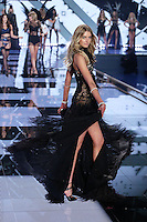 Sigrid Agren on the runway at the Victoria's Secret Fashion Show 2014 London held at Earl's Court, London. 02/12/2014 Picture by: James Smith / Featureflash