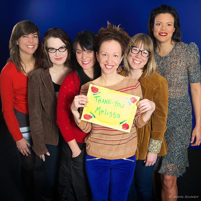 Sophie Deraspe, <br /> Danishka Esterhazy, <br /> Michelle Latimer, <br /> Ingrid Veninger, <br /> Mars Horodyski, <br /> Anais Granofsky.<br /> Photo by: John Gundy