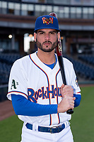 Midland RockHounds outfielder Luis Barrera (22) poses for a photo before a Texas League game against the Tulsa Drillers at Security Bank Ballpark on April 24, 2019 in Midland, Texas. (Zachary Lucy/Four Seam Images)