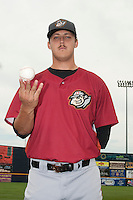 Altoona Curve pitcher Jameson Taillon (44) during game against the Trenton Thunder at ARM & HAMMER Park on July 24, 2013 in Trenton, NJ.  Altoona defeated Trenton 4-2.  Tomasso DeRosa/Four Seam Images