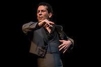 Emocion Flamenco Birmingham Town Hall.Dress rehearsal 10th Nov 07.Pepa Molina, Gullirmo Rozenthuler, Cesar Velazquez, Caroline Gonzalez, Los Arrieritos,