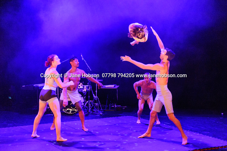 """Assembly present a selection of their shows at the 2016 Assembly Festival Gala Launch. Picture shows: Casus Circus in """"Driftwood"""""""
