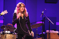 Lisa Marie Presley performing on the first night of her Storm And Grace Tour at World Cafe Live in Philadelphia, Pa on June 11, 2012 © Star Shooter / MediaPunchInc NORTEPHOTO.COM<br />
