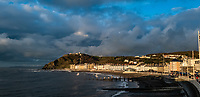 2019 11 03 General view of the bay in Aberystwyth, Wales, UK