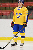 Joachim Rohdin (Sweden - 27) - Sweden's Under-20 team defeated the Harvard University Crimson 2-1 on Monday, November 1, 2010, at Bright Hockey Center in Cambridge, Massachusetts.