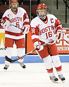 Sarah Appleton (BU - 16) - The Boston University Terriers defeated the Providence College Friars 5-3 on Saturday, November 14, 2009, at Agganis Arena in Boston, Massachusetts.