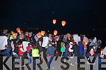 Lantern Launch Reenroe Beach, Ballinskelligs.