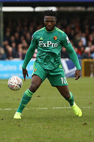 Isaac Success of Watford during Woking vs Watford, Emirates FA Cup Football at The Laithwaite Community Stadium on 6th January 2019